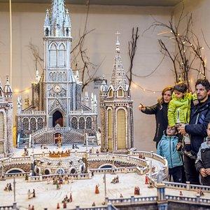 Il presepe di Lourdes della Mostra di miniature e presepi Andalo Life  PH Matteo de Stefano