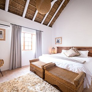 Double room at Roam Safari Lodge. Image : Em Gatland