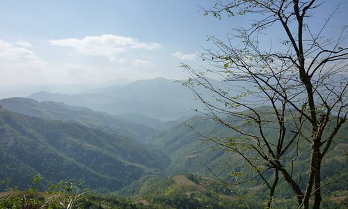Dien Bien Mountains, en route to Giap general mountains, some 20 km from town
