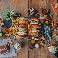 Burger + Fries + Drinks