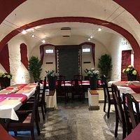 Gemütliche Räume für 20-30 Personen für Familienanlässe oder Geschäftsessen