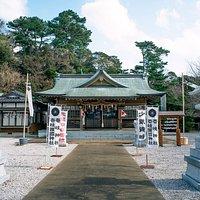 元寇で壱岐を守り、19歳で命を落とした少弐資時を祀る神社