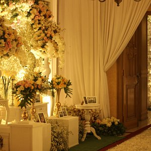 wedding set up for your special  moment