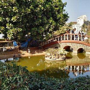 Inside Jogger's Park in Bandra