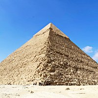 The Pyramid of Khafre or of Chephren