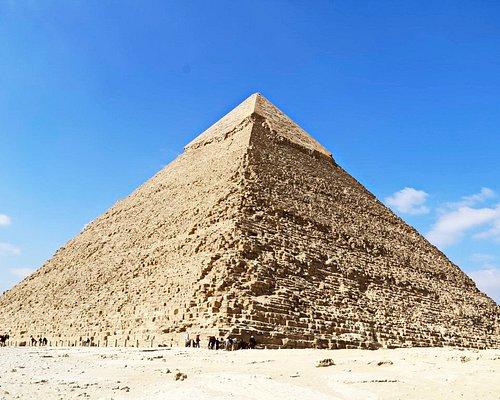 The Pyramid of Khafre or of Chephren