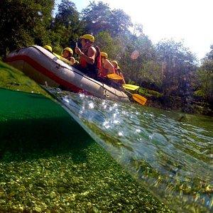 Tara Canyon Raft