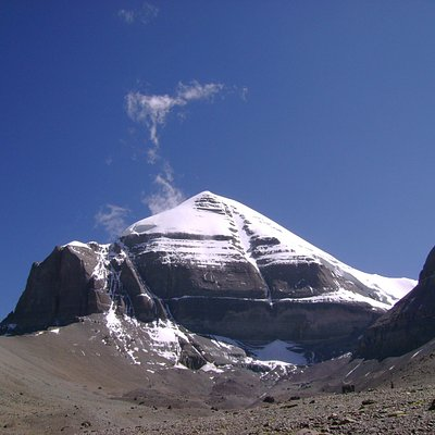 Mt Kailash clicked while at inner parikrama in 2011 by Traveldost