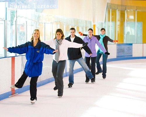 Adult skating classes.