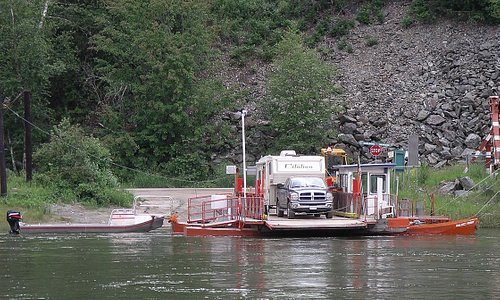 McClure cable ferry