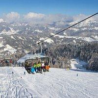 Ski slope Lom.