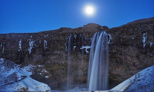 Super Luna in Islanda. Che magia...