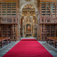 Biblioteca Joanina. Foto de Vítor Murta #turismouc