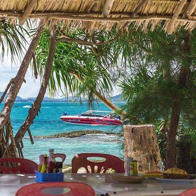 Ko Bon island 15 minutes by boat from Rawawi beach, Phuket