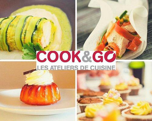 Les ateliers de cuisine chez Cook&Go vous permettent d'apprendre et de partager une cuisine décomplexée.