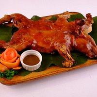 """Chef""""s recommendation  Famous and Crispy Lechon de Leche"""
