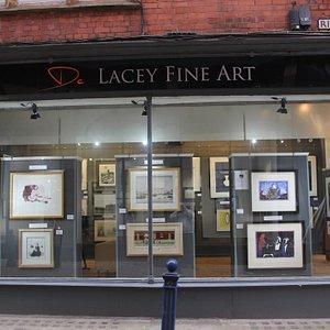 De Lacey Fine Arts large window