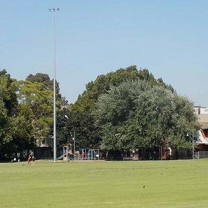 Playground next to primary school