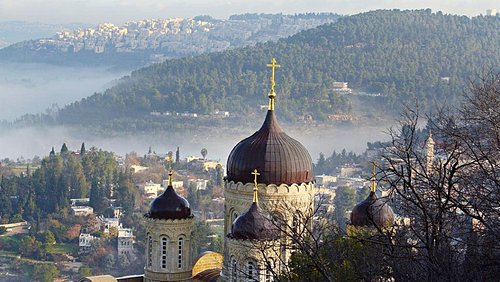 After that, we are going to visit Ein Kerem starting the church of the visitation continuing to Church of Saint John the Baptist.