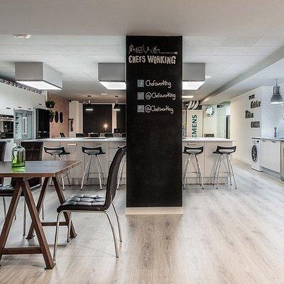 Instalaciones del espacio gastronomico chefsworking