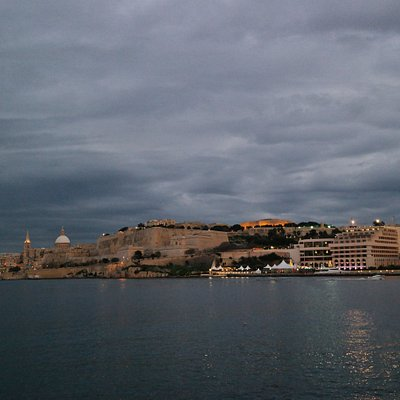 Our view of Valletta is amazing!