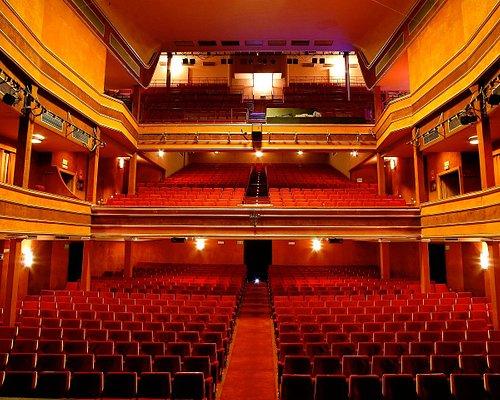 Vista del Teatro La Latina desde el escenario