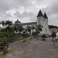Vista hacia la Catedral.
