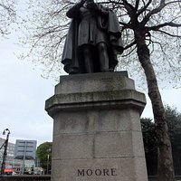 1857 – Poet - Thomas Moore Statue, College St., Dublin Sculptor: Christopher Moore