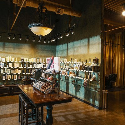 Photo interiors - full Aveda product line and creative stylists on-hand.