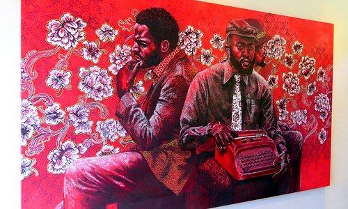 Emerging South African artist: Bambo Sibiya