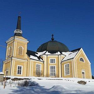 Rääkkylän kirkko on maailman toiseksi suurin puukirkko.