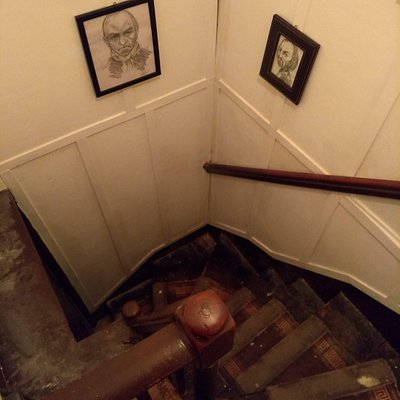 Haunted stairs in the centre