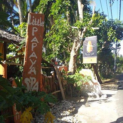 Little Papaya Spa on Nusa Penida island