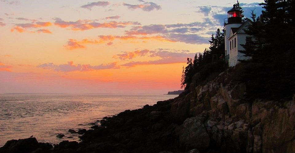 An early evening trek to the light house was rewarded with a great sunset.
