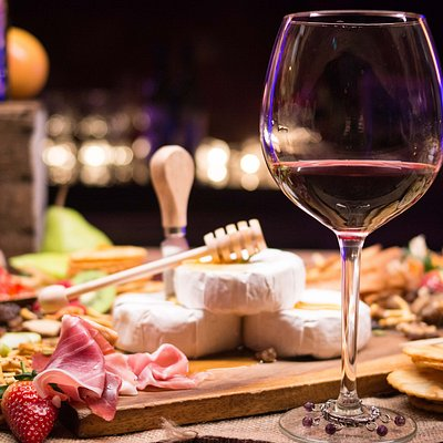 Wine, cheese, and charcuterie, the best pairings.