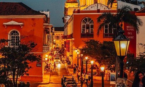 Картахена де Индиас - Одного из самых красивых городов Латинской Америки. Находится он в Колумбии на берегу Карибского моря.