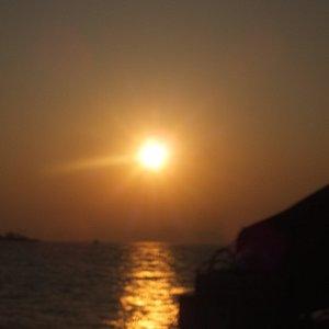 A sunset shot