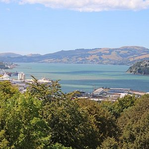 Bay view from lookout