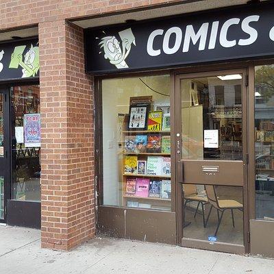 Une librairie sympa et fournie