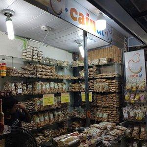 Loja especializada em castanhas e produtos nordestinos, com os melhores preços de Maceió.