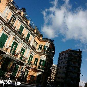 Napoli, corso vittorio emanuele