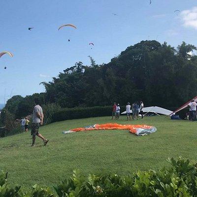 Local ideal para a prática de voo livre ParaPente e Asa Delta.