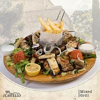 Try our Mediterranean cuisine and you will not regret it !!!🤓🥗🍲 #ilcastellolimassol #grill#pasta#salads#pizza#burgers#food #meze #wine