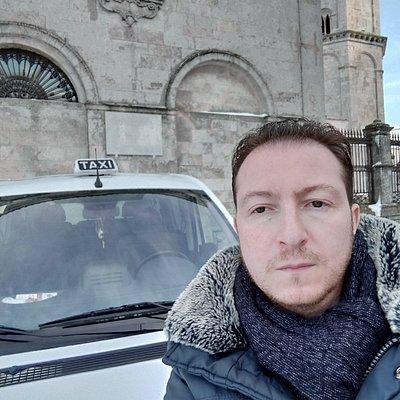 Escursione Monte Sant'Angelo con la neve (nel mese  di Gennaio)