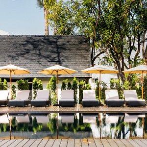The charming pool
