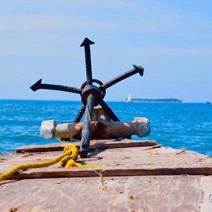 Stone town, Zanzibar, Boat trip to the Mysterious Prison Island