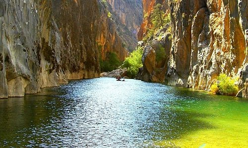 This is a must see category canyon which is called Arapasti in Turkey. It is located in Bozdogan, Aydin.