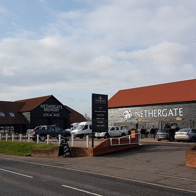 The new Brewery in Long Melford