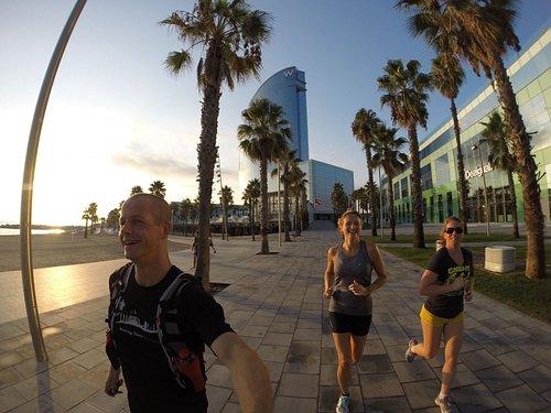 Running Barcelona - Run Fun Sights Beachfront