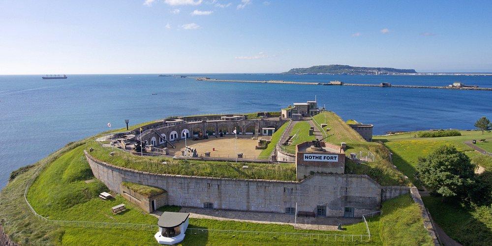 Nothe Fort on the Jurassic Coast Dorset